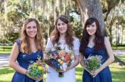 carolynn with her bridesmaids