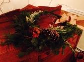 foraged wreath